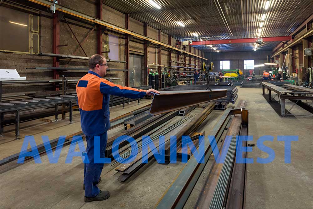 metalwork construction factory Ukraine