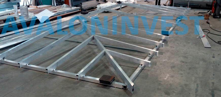 изготовление алюминиевых конструкций