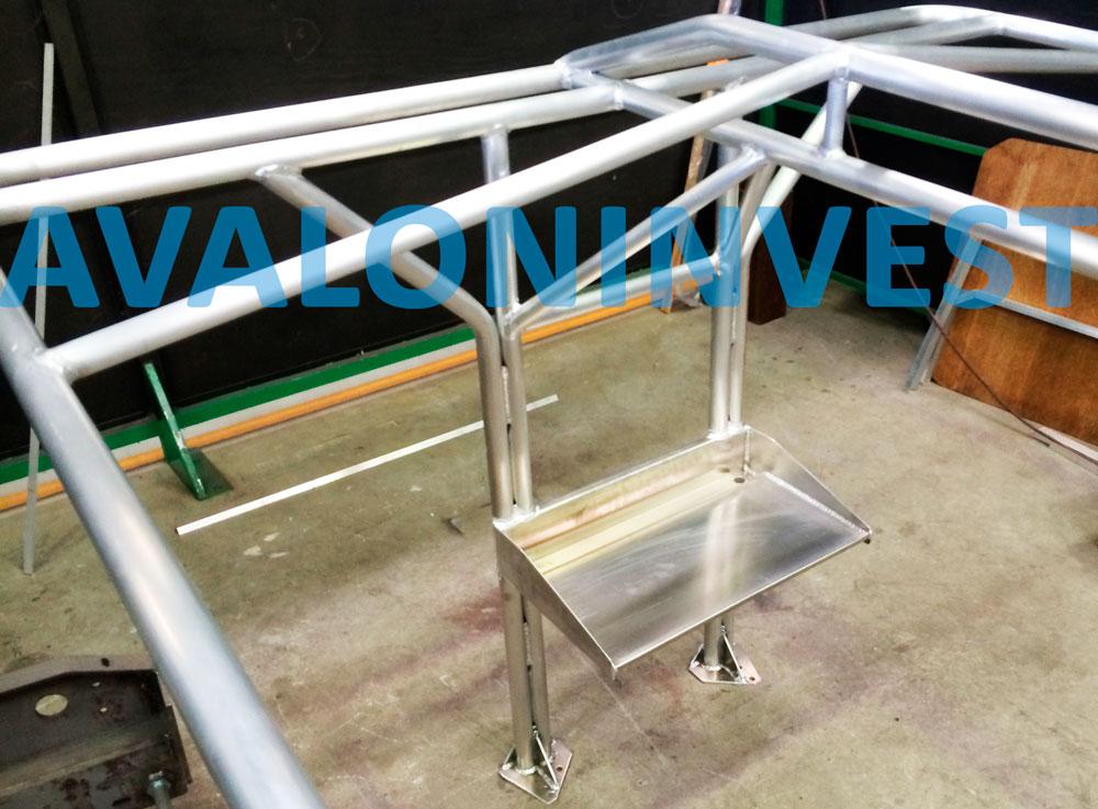 производство алюминиевых конструкций