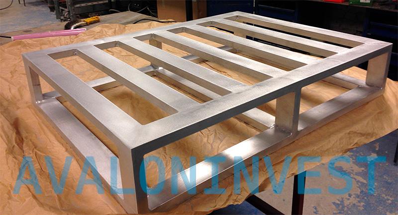конструкции из алюминия