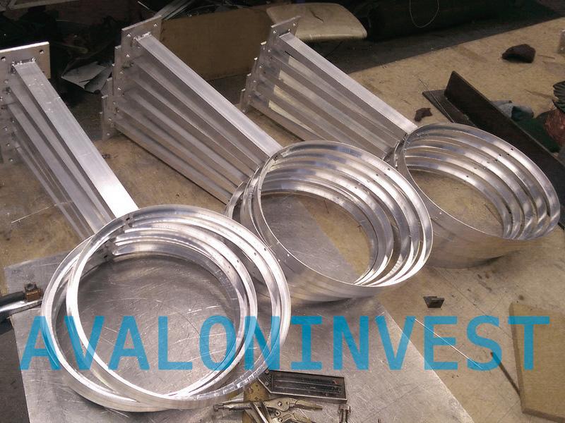 изделия из алюминия на заказ