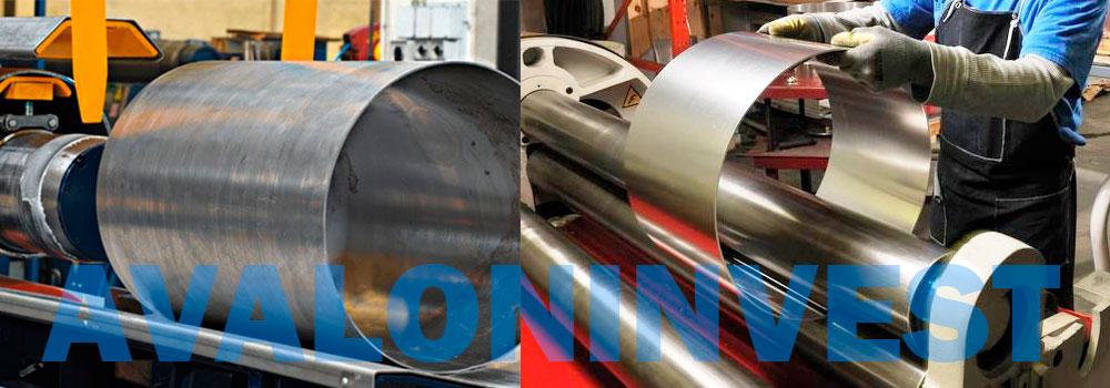 вальцовка листового металла в Ровеньках