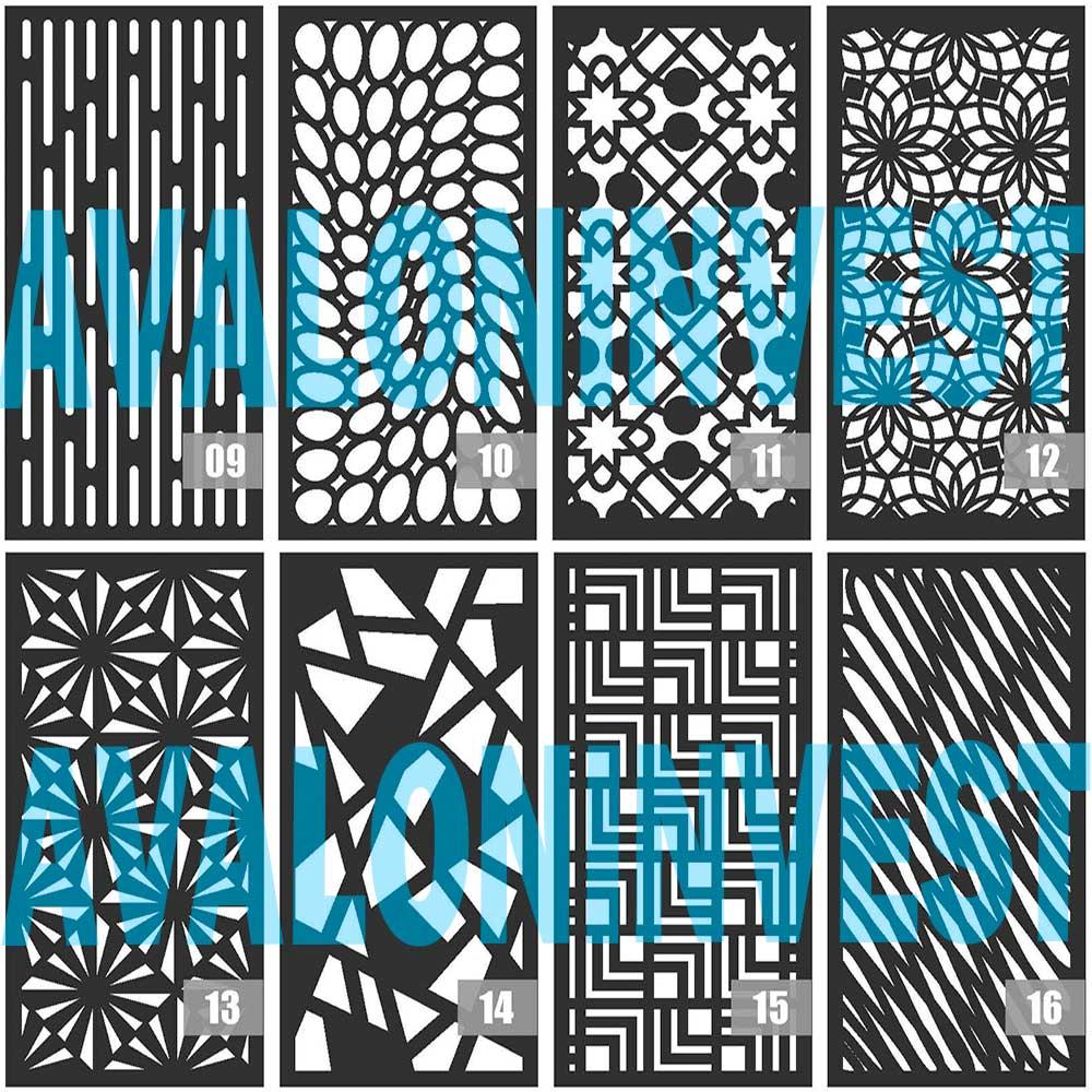 Декоративные панели из листового металла