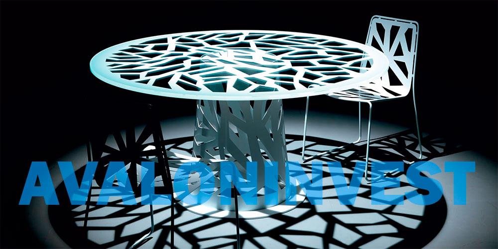 дизайнерские конструкции из металла