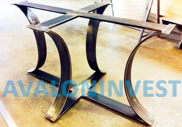 каркас металлического стола