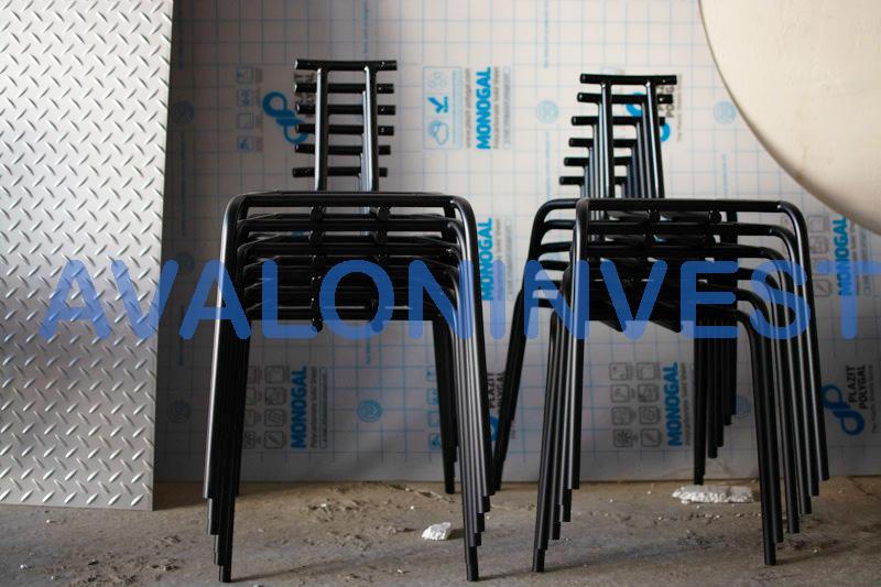 изготовление металлических стульев
