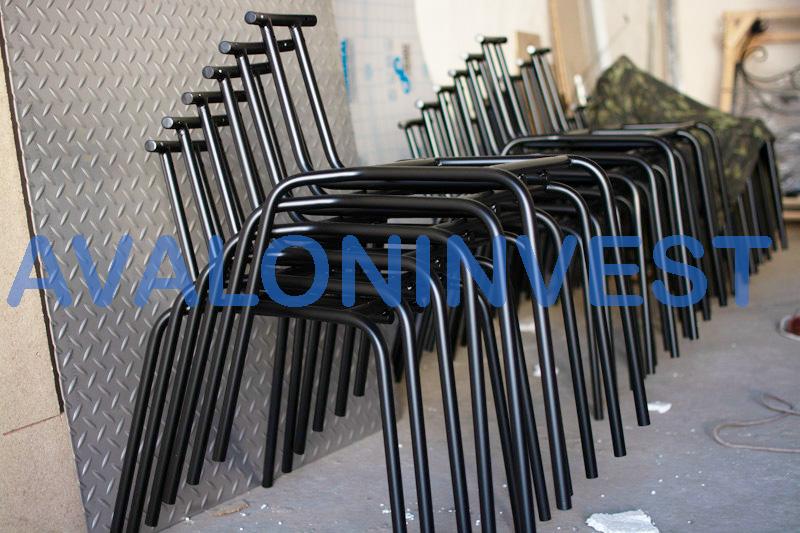 каркас стула из металла