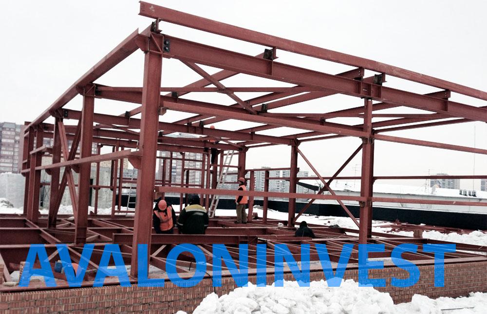 монтаж металлоконструкций на заказ