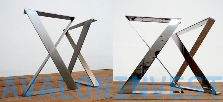 опоры для столов из нержавейки