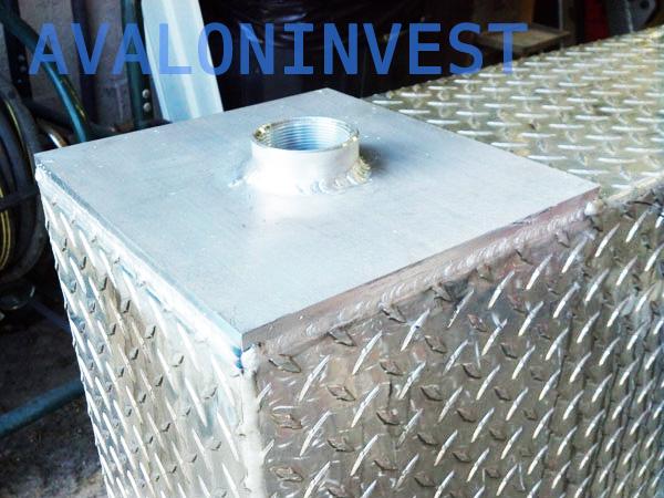 сварка алюминиевой емкости